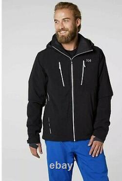 Veste De Ski Helly Hansen Alpha 3.0 Isolant Pour Homme Avec Tissu Imperméable À L'eau M