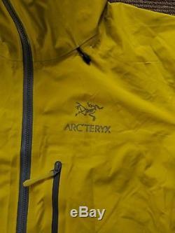 Veste Gore-tex Arcteryx Alpha Fl (lichen). Moyenne Hommes
