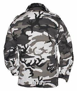 Veste M65 Original Alpha Industries Us Army Military USA Combat Field Snow Camo