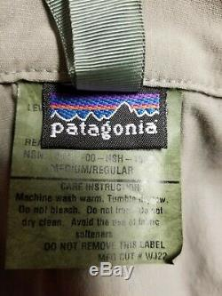 Veste Militaire Patagonia Pcu Niveau 5 Gen II Moyen-regulier M / R Alpha Green