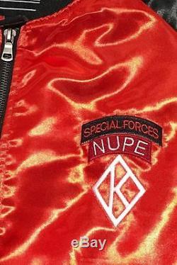 Veste Parachutiste Spécial Forces Nupe, Rouge Kappa Alpha Psi Yo Nupe