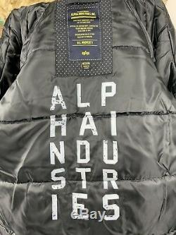 Veste Parka Slim Fit Femme Alpha Industries N-3b Altitude Taille Noir