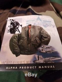 Vestes De Campagne M65 Pour Hommes Alpha Fabriquées Aux États-unis Par Le Gouvernement