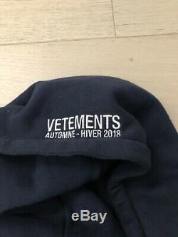 Vetements X Alpha Industries Veste Matelassée Bomber Reverisble Taille Medium