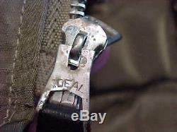 Vietnam Era Usaf L-2b Nylon Flight Jacket Taille Moyenne Alpha Industries