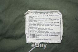 Vintage 1973 Alpha Industries Vietnam Epoque Guerre Veste Militaire Homme Taille M