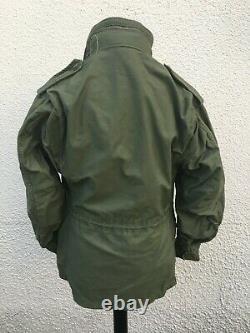 Vintage Alpha Industries U. S Militaire M-65 Champ Manteau Veste Moyenne 41 Poitrine