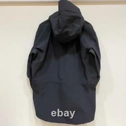Vintage Arc'teryx Alpha Sv Jacket Hooded Black Full-zip Size M Men's Pre-owned