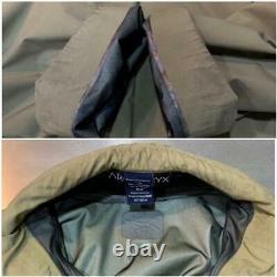 Vintage Arc'teryx Leaf Gen1 Alpha Jacket Gore-tex Taille M Beige Bon État