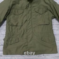Vintage Vietnam War Era Us Military M-65 Og-107 Field Jacket Par Alpha Industries