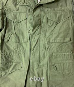 Vtg Alpha Industries Hommes M-65 Og 107 Manteau De Campagne Taille Moyenne