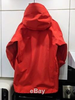 (comme Neuf) Veste Arc'teryx Alpha Sv Homme Moyenne (cardinal)